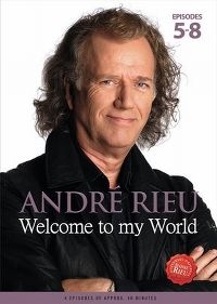 Cover André Rieu - Welcome To My World - Episodes 5-8 [DVD]